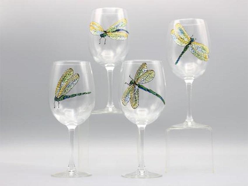 Creative Wine Glass